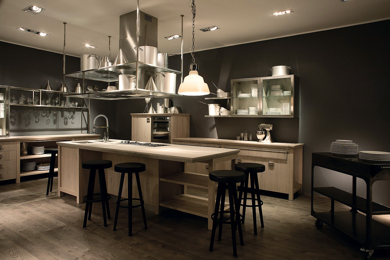 Scavolini diesel social kitchen 3 c 39 un tempo per ogni cosa - Kitchens scavolini ...