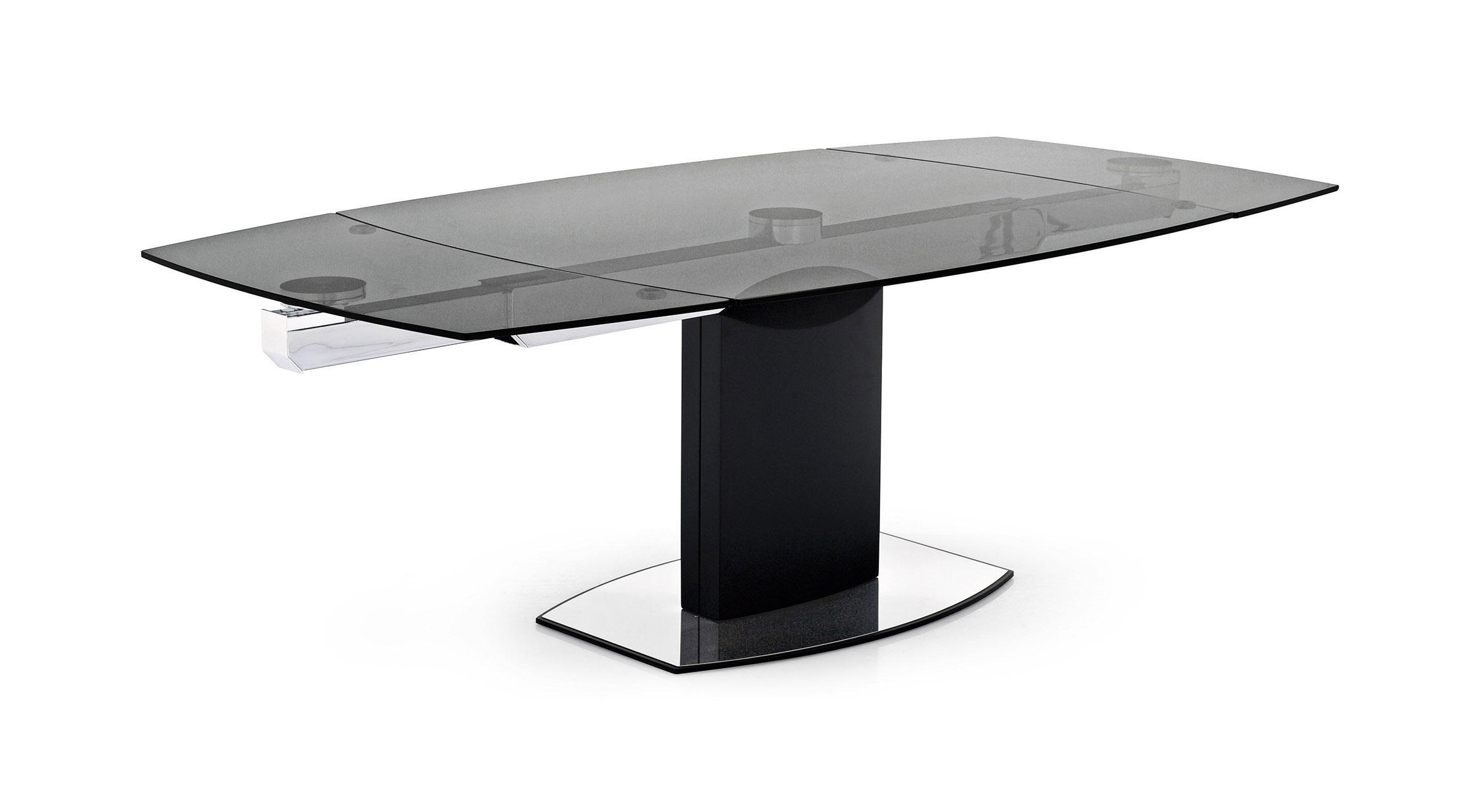 Orbital tavolo firmato pininfarina calligaris table by for Tavolo calligaris vetro temperato