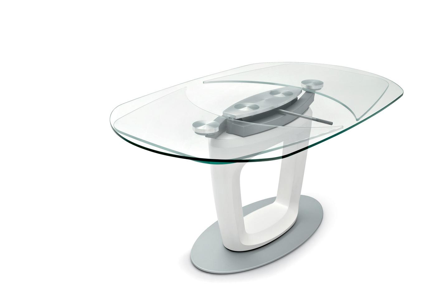 Orbital tavolo firmato pininfarina calligaris table by - Calligaris tavolo orbital ...