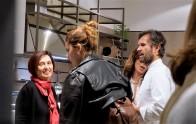 Cracco con Fabiana Scavolini